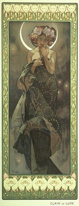 A. Mucha - Clair de Lune (1902)
